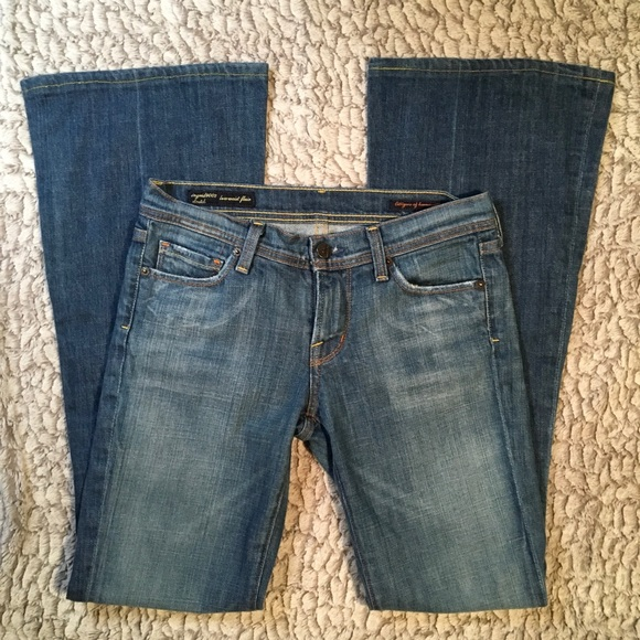 Citizens Of Humanity Denim - Citizens of Humanity | Low Waist Flair | 25x31